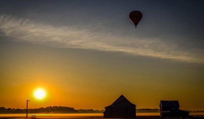 Delmarva Private Hot Air Balloon Ride