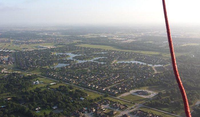 Private Houston Hot Air Balloon Ride