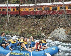 Nantahala Raft N Rail for Two