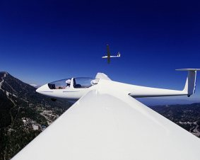Gliding In Las Vegas