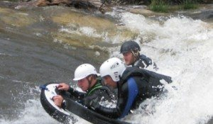 Steamboat Riverboarding Lesson