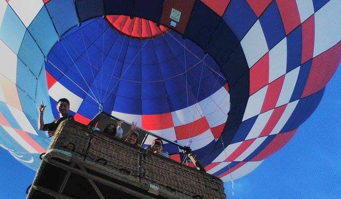 Hot Air Balloon Ride Over Palm Desert
