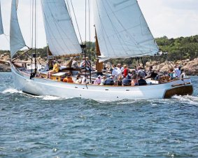Schooner Sailing Newport