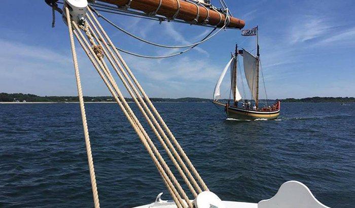 Salem Sound Schooner Sailing