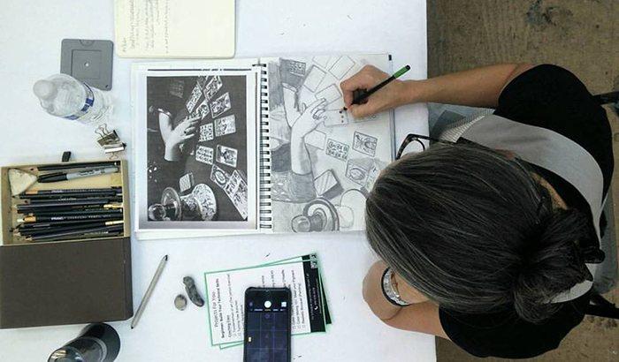 San Diego Drawing Class