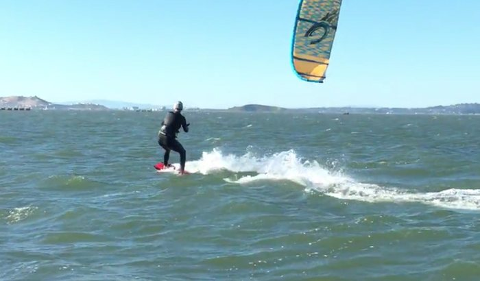 San Francisco Kitesurfing Lesson