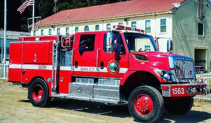 Fire Engine City Tour San Francisco