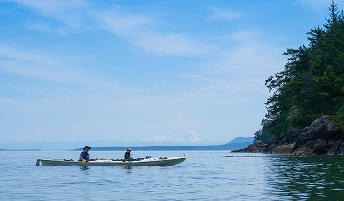 Sea Kayaking Tour Of The San Juan Islands