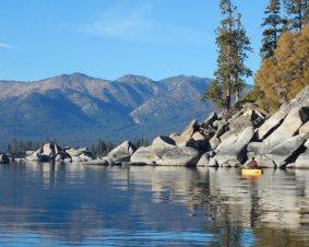 Sand Harbor Kayaking On Lake Tahoe