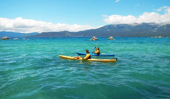 Sand Harbor Kayaking For Two On Lake Tahoe