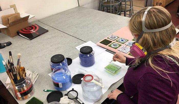 Santa Fe Glass Arts Class