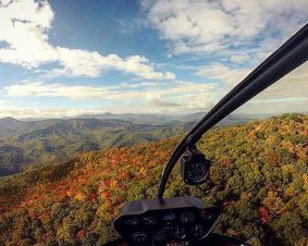 Helicopter Tour Tennessee