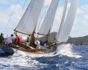 Rockport Harbor Schooner Sailing for Two