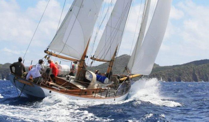 Rockport Harbor Schooner Sailing for Two