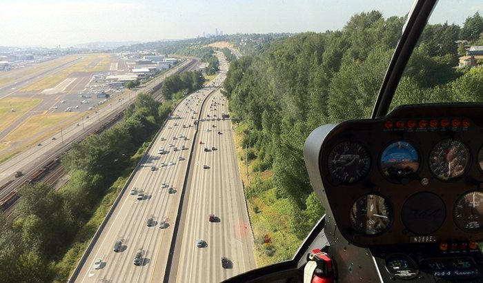 Hands-On Helicopter Flight in Seattle