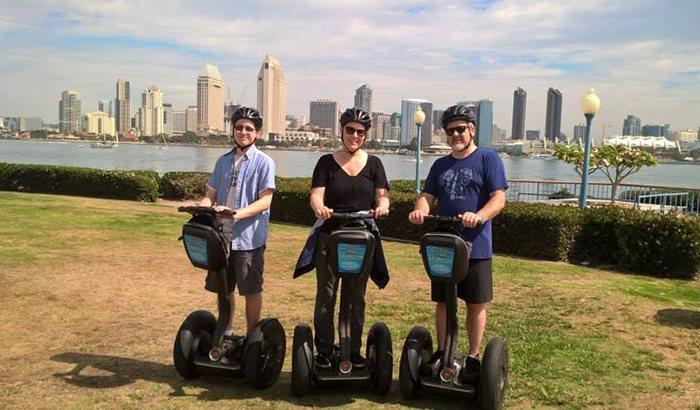 San Diego Bayside Segway Tour For Two