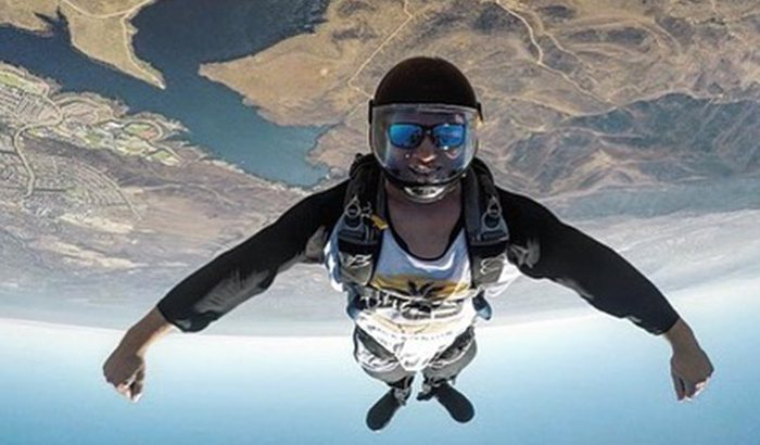 Solo Skydive San Diego