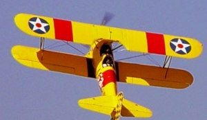 Sonoma Aerobatic Biplane Flight