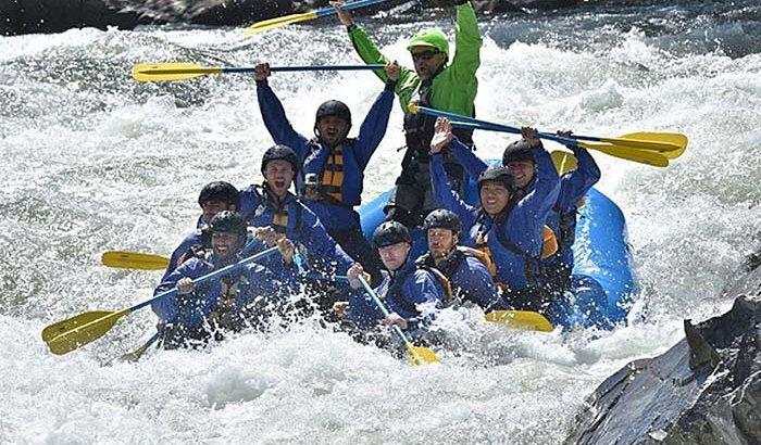 South Fork American River Rafting