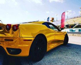 Ferrari Driving in Miami