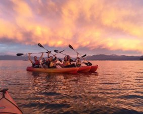 Sunset Kayaking Tour For Two On Lake Tahoe