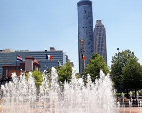 Walking Tour Of Atlanta