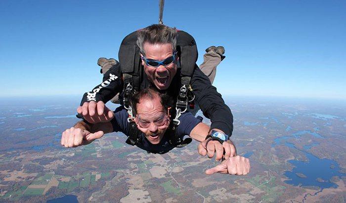 Tandem Skydive Albany