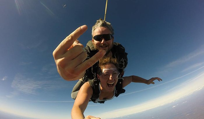 Tandem Skydive New England