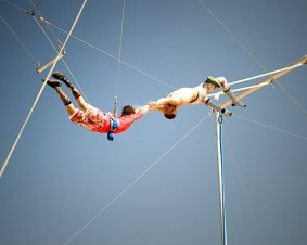 Trapeze Class in Escondido for Two