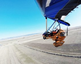 Ultralight Trike Flight