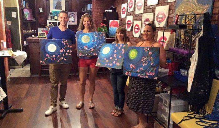 DC Painting Wine Class