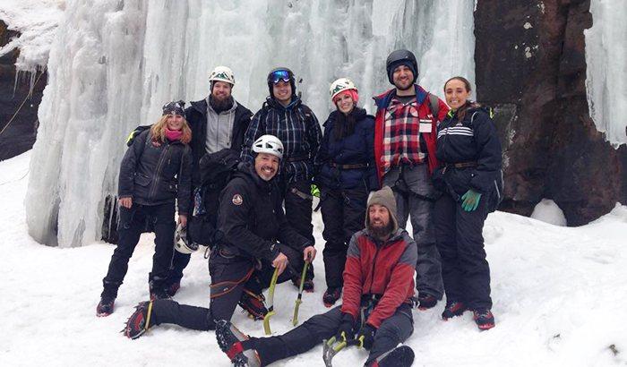 Upstate NY Guided Ice Climbing