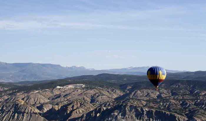 Vail Valley Hot Air Balloon Ride