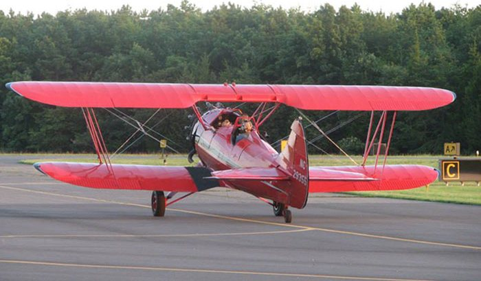 WACO Biplane Ride Over South Jersey