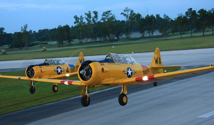 Warbird Flight in Orlando