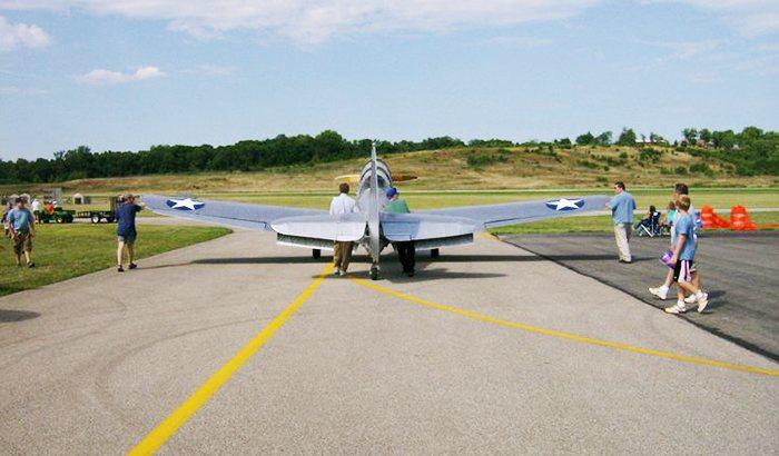 Warbird Flight in Cincinnati