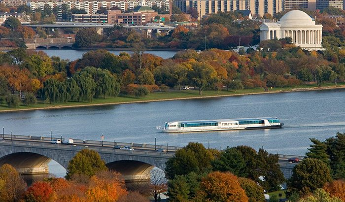 Gourmet Washington D.C. Lunch Cruise For Two