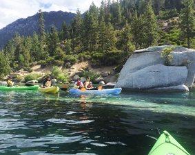 West Shore Kayaking On Lake Tahoe