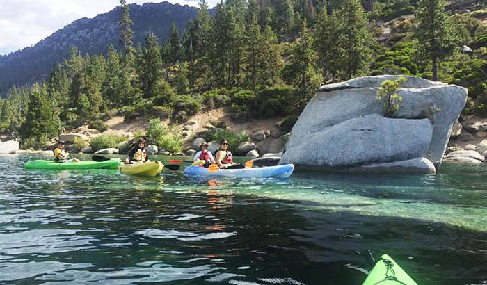 West Shore Kayaking For Two On Lake Tahoe