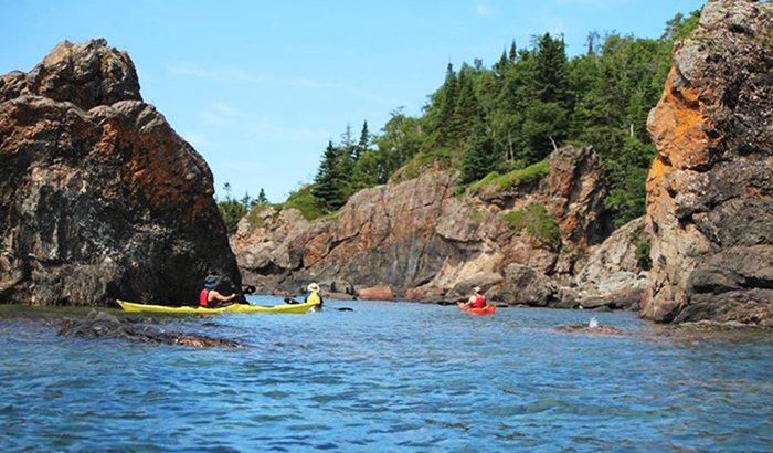 Sea Kayak Instruction on Lake Superior