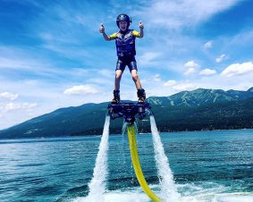 Flyboard Whitefish Lake