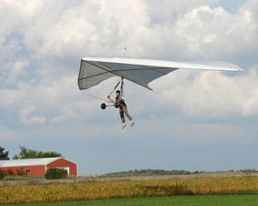 Whitewater Hang Gliding Flight Lesson