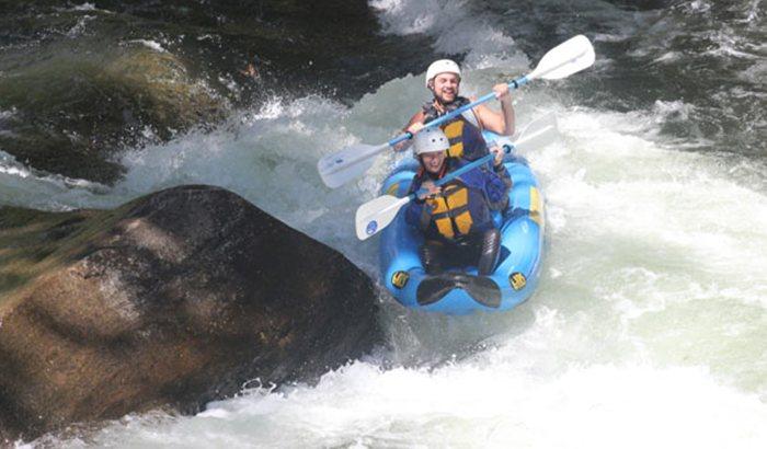 Rafting on the Nantahala River for Two