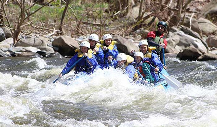 Rafting on the Pigeon River for Two