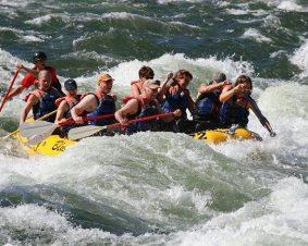 Wenatchee River Rafting and Wine Tasting