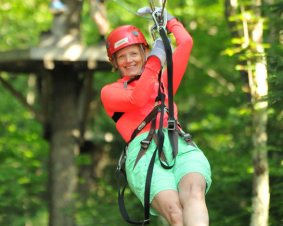 Deerfield Valley Zipline Canopy Tour