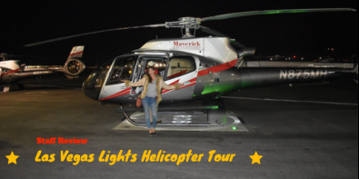 Staff Review of Las Vegas Lights Helicopter Tour for Two