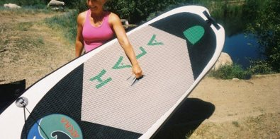 All Aboard the Intern-Ship! Part 1: Paddleboarding