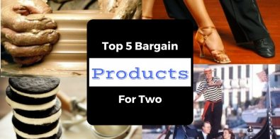 Top 5 Bargain Products For Two