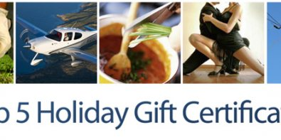 Experience Gifts For The Holidays